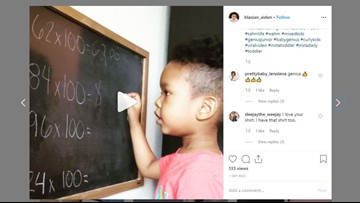 This 3-Year-Old Whiz Kid From DC Might Be Better At Math Than You Are