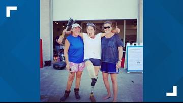 'No home, no car and no leg' | Ocracoke woman loses everything to Hurricane Dorian
