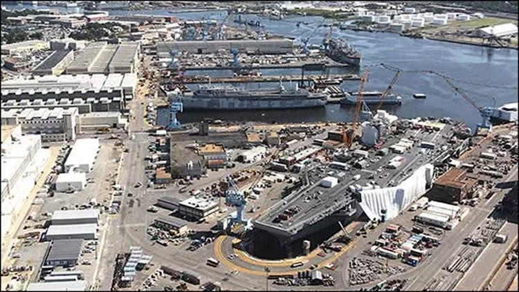 All clear following bomb threat at Norfolk Naval Shipyard