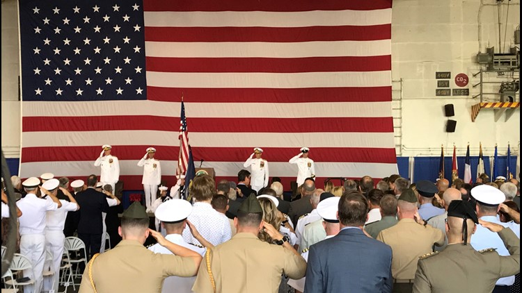 US Navy revives Second Fleet with ceremony in Norfolk