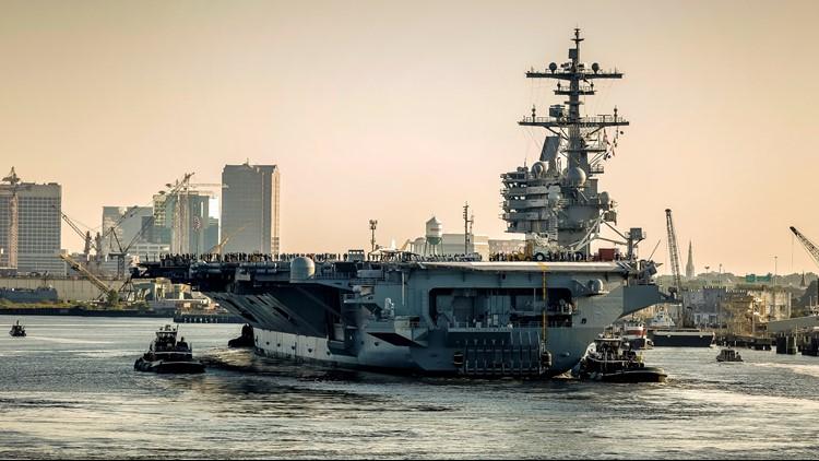 USS George H.W. Bush sailor killed in mishap