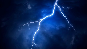 Swimmer struck by lightning on NC Outer Banks in Kitty Hawk