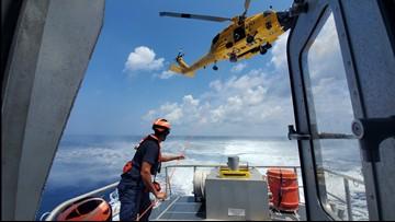US Coast Guard medevacs Uruguayan naval cadet off North Carolina coast