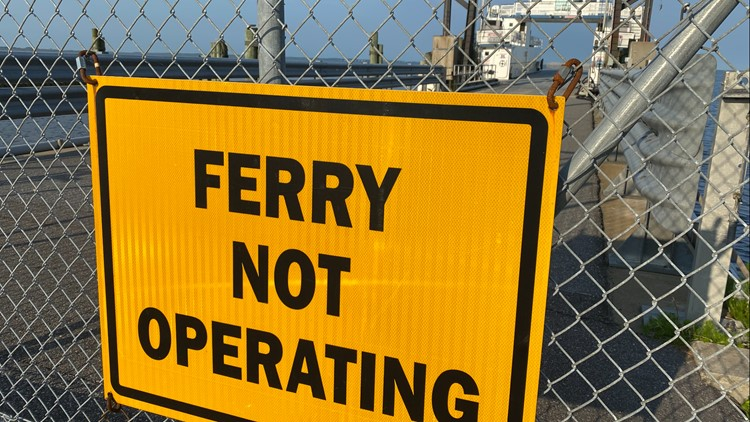 North Carolina ferry route temporarily closes due to staffing shortage
