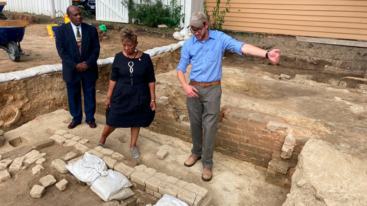Remnants of Black church unearthed in Colonial Williamsburg