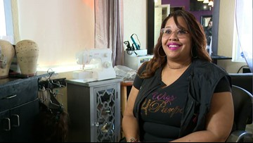MAKING A MARK: Hairstylist refreshes wigs for women with hair loss