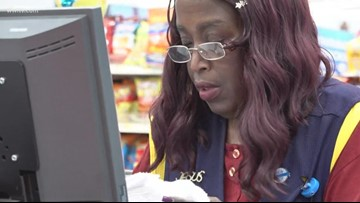 Walmart cashier walks 6 miles to work - says not having a vehicle 'no excuse'