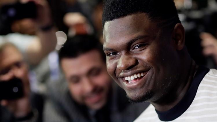 Duke's Zion Williamson Set To Lead Off NBA Draft