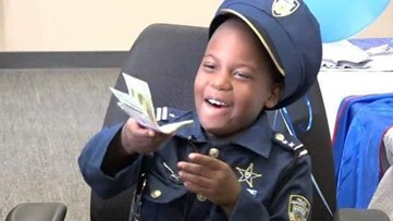 8-year-old crime-fighting 'officer' loses battle with cancer