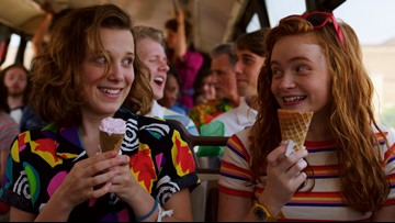 'Stranger Things-'inspired ice cream flavors hitting stores this summer