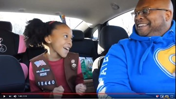Viral Dad-Daughter Duo Are Back With Girl Scout Cookie Parody 'Cookie Girl Rock'