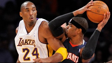 Atlanta reacts to Kobe Bryant's death