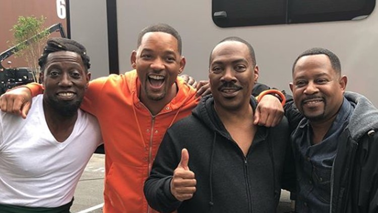 Wesley Snipes, Will Smith, Eddie Murphy, Martin Lawrence