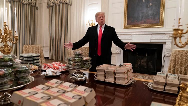 Trump Clemson White House