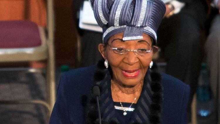 Christine King Farris, older sister of MLK and celebrated Spelman professor, turns 94