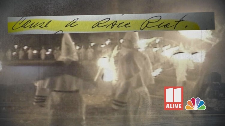Secret investigation into KKK during Atlanta child murders uncovers fear of race riots