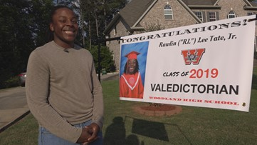 He's The 1st Black Male Valedictorian At His Georgia High School And He's Going To NC A&T State