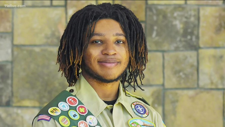 'To me it means honor and discipline' | Georgia teen earns honor of Eagle Scout