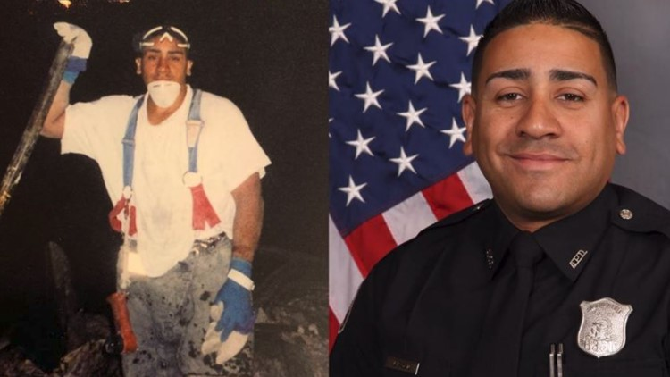 'It was the building collapsing right on top of me'   An Atlanta officer's 9/11 story