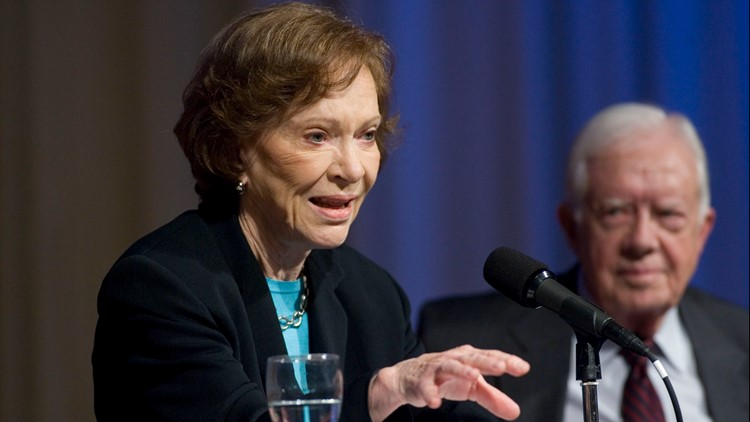 On World Mental Health Day, remembering Rosalynn Carter's lifetime of advocacy