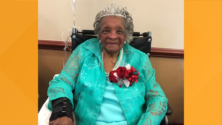 Atlanta native celebrates turning 100 years old!