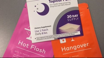 Will these patches help you: sleep, lose weight, have less stress?
