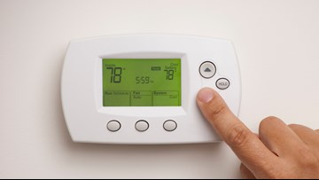 DOE: Keep your house no cooler than 78 degrees